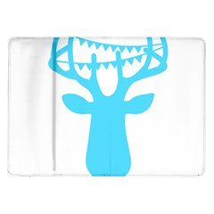 Party Deer With Bunting Samsung Galaxy Tab 10 1  P7500 Flip Case by CraftyLittleNodes