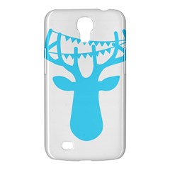 Party Deer With Bunting Samsung Galaxy Mega 6 3  I9200 Hardshell Case by CraftyLittleNodes