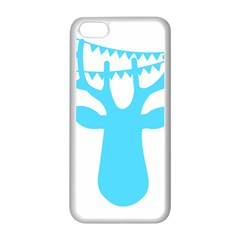 Party Deer With Bunting Apple Iphone 5c Seamless Case (white) by CraftyLittleNodes