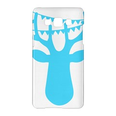 Party Deer With Bunting Samsung Galaxy A5 Hardshell Case  by CraftyLittleNodes