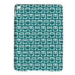 Teal And White Owl Pattern Ipad Air 2 Hardshell Cases