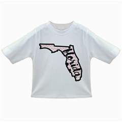 Florida Map Pride Chevron Infant/toddler T-shirts by CraftyLittleNodes