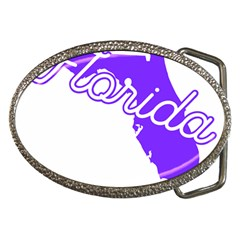 Florida Home State Pride Belt Buckles