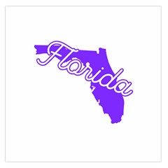 Florida Home State Pride Large Satin Scarf (square) by CraftyLittleNodes