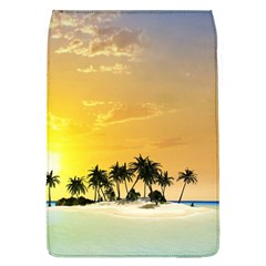 Beautiful Island In The Sunset Flap Covers (l)  by FantasyWorld7