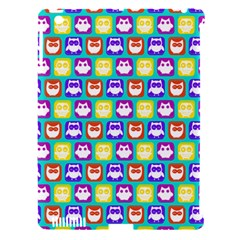 Colorful Whimsical Owl Pattern Apple Ipad 3/4 Hardshell Case (compatible With Smart Cover) by creativemom