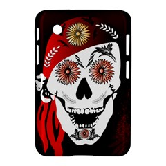 Funny Happy Skull Samsung Galaxy Tab 2 (7 ) P3100 Hardshell Case  by FantasyWorld7