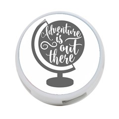Adventure Is Out There 4 Port Usb Hub (one Side)