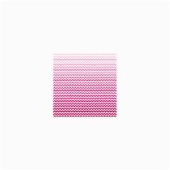 Pink Gradient Chevron Collage 12  X 18