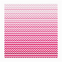 Pink Gradient Chevron Medium Glasses Cloth by CraftyLittleNodes
