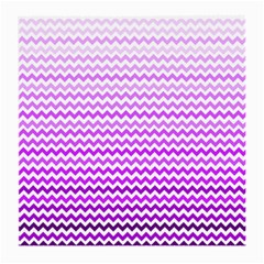 Purple Gradient Chevron Medium Glasses Cloth by CraftyLittleNodes