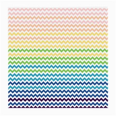 Pastel Gradient Rainbow Chevron Medium Glasses Cloth by CraftyLittleNodes