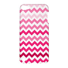 Pink Gradient Chevron Large Apple Ipod Touch 5 Hardshell Case by CraftyLittleNodes
