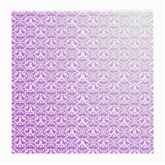 Purple Damask Gradient Medium Glasses Cloth by CraftyLittleNodes
