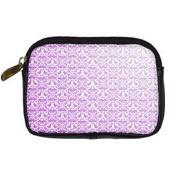 Purple Damask Gradient Digital Camera Cases by CraftyLittleNodes