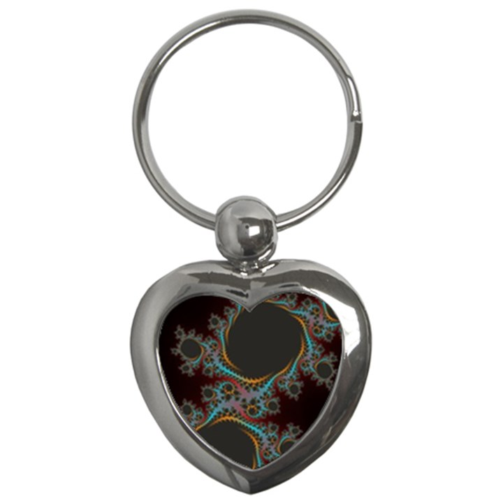 Dream in Fract Key Chains (Heart)