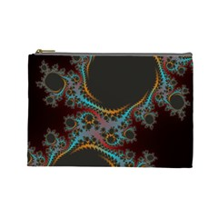 Dream In Fract Cosmetic Bag (large)  by digitaldivadesigns