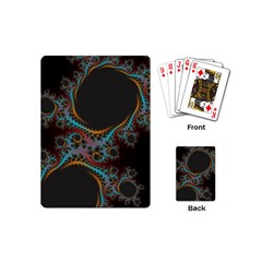 Dream In Fract Playing Cards (mini)  by digitaldivadesigns