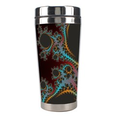 Dream In Fract Stainless Steel Travel Tumblers by digitaldivadesigns