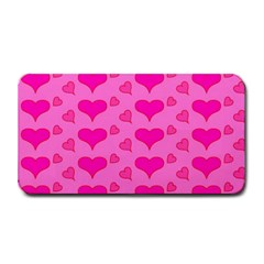 Hearts Pink Medium Bar Mats by MoreColorsinLife