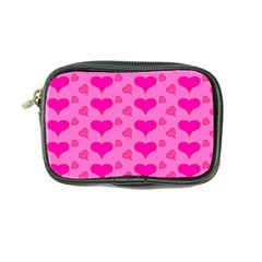 Hearts Pink Coin Purse by MoreColorsinLife