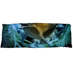 Funny Dolphin In The Universe Body Pillow Cases Dakimakura (two Sides)