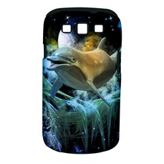 Funny Dolphin In The Universe Samsung Galaxy S Iii Classic Hardshell Case (pc+silicone)