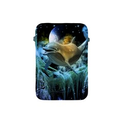 Funny Dolphin In The Universe Apple Ipad Mini Protective Soft Cases