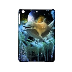 Funny Dolphin In The Universe Ipad Mini 2 Hardshell Cases