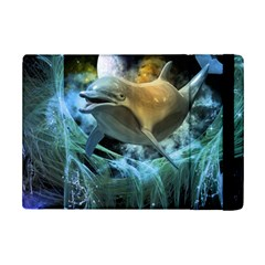 Funny Dolphin In The Universe Ipad Mini 2 Flip Cases