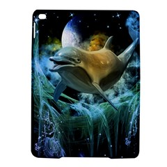 Funny Dolphin In The Universe Ipad Air 2 Hardshell Cases
