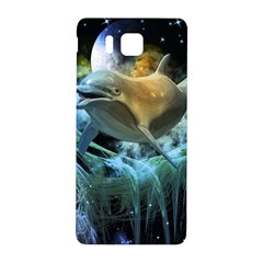 Funny Dolphin In The Universe Samsung Galaxy Alpha Hardshell Back Case