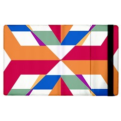 Shapes In Triangles Apple Ipad 3/4 Flip Case by LalyLauraFLM