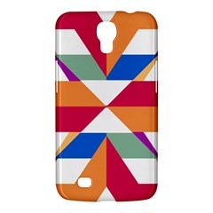 Shapes In Triangles Samsung Galaxy Mega 6 3  I9200 Hardshell Case by LalyLauraFLM