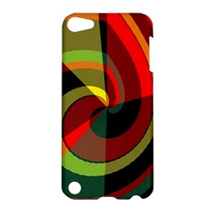 Spiral Apple Ipod Touch 5 Hardshell Case by LalyLauraFLM