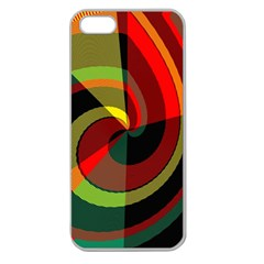 Spiral Apple Seamless Iphone 5 Case (clear)