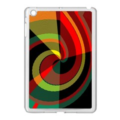 Spiral Apple Ipad Mini Case (white) by LalyLauraFLM