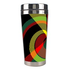 Spiral Stainless Steel Travel Tumbler