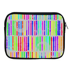 Colorful Vintage Stripes Apple Ipad 2/3/4 Zipper Case by LalyLauraFLM