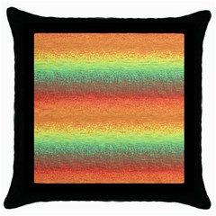 Gradient Chaos Throw Pillow Case (black) by LalyLauraFLM