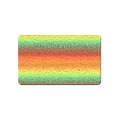 Gradient Chaos Magnet (name Card) by LalyLauraFLM