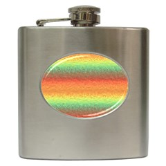 Gradient Chaos Hip Flask (6 Oz)