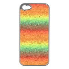 Gradient Chaos Apple Iphone 5 Case (silver) by LalyLauraFLM