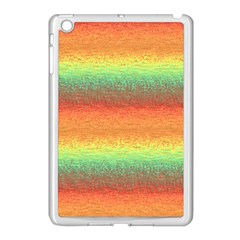 Gradient Chaos Apple Ipad Mini Case (white) by LalyLauraFLM