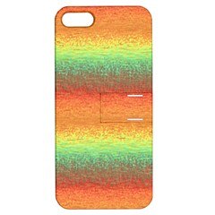 Gradient Chaos Apple Iphone 5 Hardshell Case With Stand by LalyLauraFLM