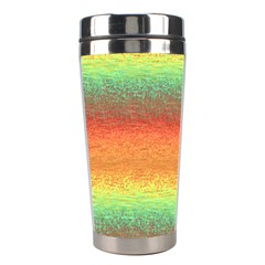Gradient Chaos Stainless Steel Travel Tumbler by LalyLauraFLM
