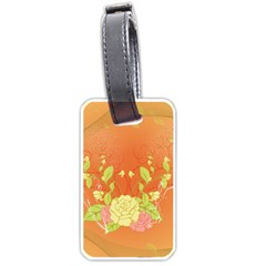 Beautiful Flowers In Soft Colors Luggage Tags (one Side)