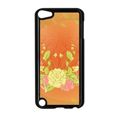 Beautiful Flowers In Soft Colors Apple Ipod Touch 5 Case (black)