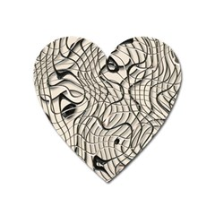 Ribbon Chaos 2  Heart Magnet by ImpressiveMoments