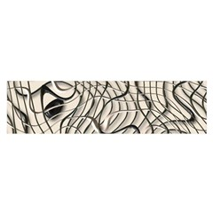 Ribbon Chaos 2  Satin Scarf (oblong)